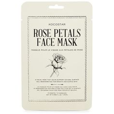 Kocostar Rose Petal Face Mask ($4.99) ❤ liked on Polyvore featuring beauty products, skincare, face care, face masks, fillers, beauty, cosmetics and makeup