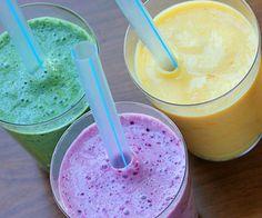 Fairytale Fruit and Yogurt Smoothies - fairytale-fruit-yogurt-smoothie-flavors/ Fruit Yogurt, Yogurt Smoothies, Fruit Smoothie Recipes, Healthy Smoothies, Healthy Drinks, Healthy Snacks, Green Smoothies, Breakfast Smoothies, Healthy Milk