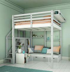 Doppel Hochbett Für Erwachsene hochbett für erwachsene 140x200 für 2 personen ein hochbett für
