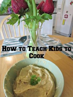 How to teach kids to cook and benefits of learning to cook