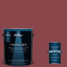 BEHR MARQUEE 1-gal. #PPU1-12 Bolero Satin Enamel Exterior Paint