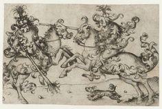 Lotta tra due cavalieri, Maestro di Amsterdam, 1475–1480. Rijksmuseum. https://medium.com/medioevo/dove-trovare-online-materiali-per-linsegnamento-della-storia-medievale-9d4e577df784#.j350i9on1