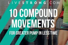 10 Compound Moves for Greater Pump in Less Time