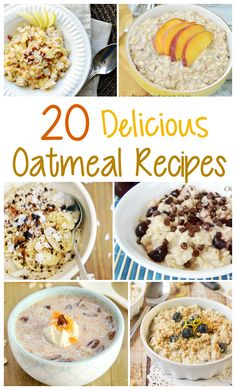20 Delicious Oatmeal Breakfast Recipes