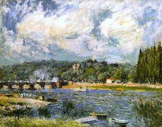 The Bridge of Sevres Alfred Sisley - 1877