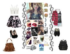 """Good girls are bad girls"" by caah-santos1 ❤ liked on Polyvore"