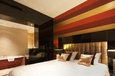 Shanghai suite in hotel van der Valk Nieuwerkerk.