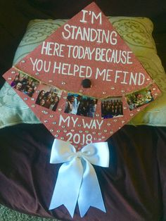 My graduation cap! The quote is from legally blonde the musical! 💖 My graduation cap! The quote is from legally blonde the musical!