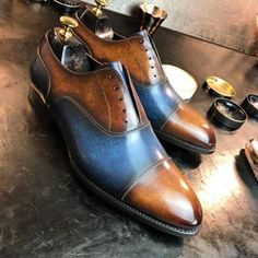 Captoe Oxfords for @andres_sendra_shoemaker in progress :)