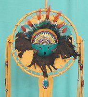Sun God Kachina Mask Mandala by Cynthia Whitehawk, Apache