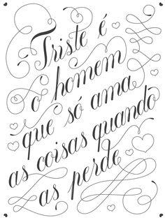 Triste é o homem by Leonor Graça Moura, via Behance