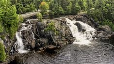 One of the best places for portraits in Muskoka is at beautiful High Falls High Falls, Definition Of Love, Beautiful Bride, The Good Place, Waterfall, Places To Visit, Wedding Photography, Portraits, Outdoor