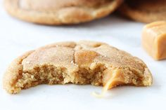 caramel-stuffed snickerdoodles