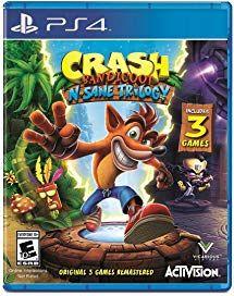 Crash Bandicoot N Sane Trilogy Playstation 4 Christmas 2018