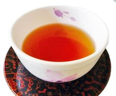 cup of Biwa cha (Japanese Loquat leaves tea) Helps beautify your skin