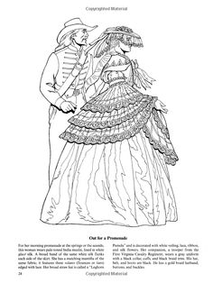 Fashions of the Old South Colouring Book (Dover Fashion Coloring Book): Amazon.co.uk: Tom Tierney: 9780486438764: Books