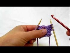 Really Clear: Fixing a Dropped Stitch in Stockinette (cc)