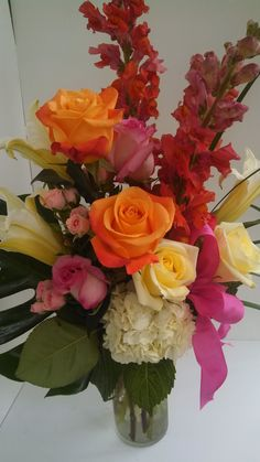 This was one of our beautiful Mother's Day arrangements featured in 2013.