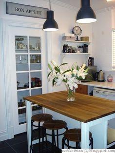 Black and White Kitchen Remodel Budget