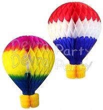 16 Inch Tissue Paper Hot Air Balloon (6-pack)