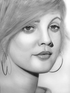 Drew Barrymore, by Quentin Oosthuizen