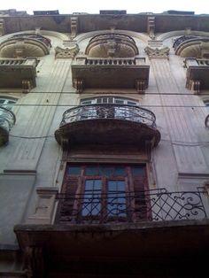 Building in El Conde, Santo Domingo, Dominican Republic.