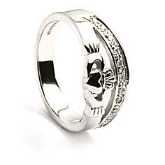 Picture of Claddagh Diamond Half Trim