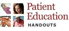 Patient Education Handouts on ADVANCE for Occupational Therapy Practitioners