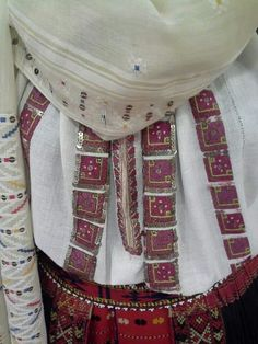 Folk Costume, Costumes, Folk Embroidery, Europe, Textiles, Popular, Traditional, Detail, Blouse