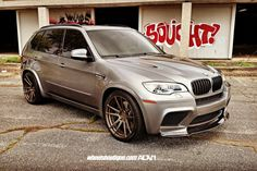 image of Another BMW X5 M Gets ADV1 Wheels Installed 3 750x500