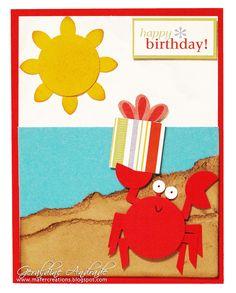 Crabby Birthday! crab birthday card