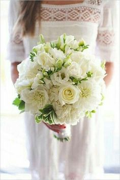 Bouquet total white - 19