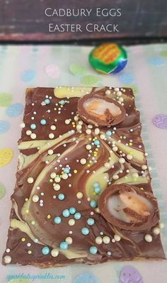 I took my Easter crack to a whole new level with this Cadbury Eggs Eater Crack!  It is  absolutely AMAZING!! Pin for later!