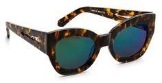 Karen Walker Superstars Collection Northern Lights Mirrored Sunglasses on shopstyle.com
