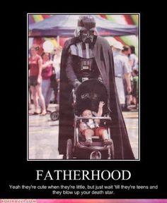 Darth Vader & sun