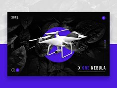 Landing Page - Product Drone by Mel Tan