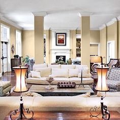 University of Alabama Delta Gamma House Living Room