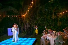 Playa del Carmen wedding. Beach photographs. Riviera Maya destination wedding. First dance. Viceroy Riviera Maya. Timeless. Romantic.By Naal Wedding Photography.
