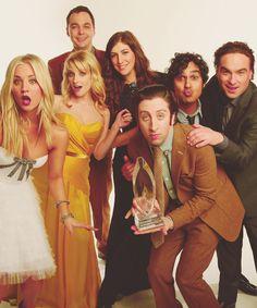 (L-R) Penny, Bernadette, Sheldon, Amy, Howard, Raj and Leonard--favorite show!!!