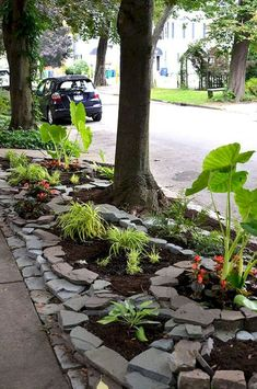 Fabulous Front Yard Rock Garden Ideas (23)