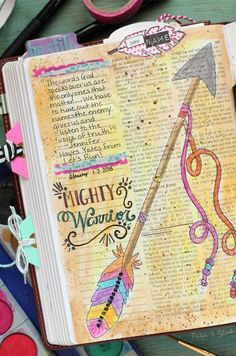 Mighty Warrior Bible Page STSG 2