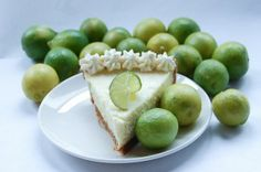 Key Lime Pie: Crust: 3/4 lb graham crackers,4 Tbsp. gran.sugar, 2 sticks butter,1/4 tsp. sea salt. Filling: 4 egg yolks,1 can cond. milk, 2/3 cup lime juice, 1 lime zest. Topping: 1 cup cream, 2 Tbsp. confect. sugar, 1/2 tsp. vanilla.  Crust: Add graham crumbs, melted butter, sugar  Press into pie pan. Bake10 min at 325, then cool. Filing: whip egg yolks & lime zest until fluffy. Add milk, whip until thick. Add lime juice.  Pour into crust, bake15 min.  Topping: Whip cream, sugar & vanilla