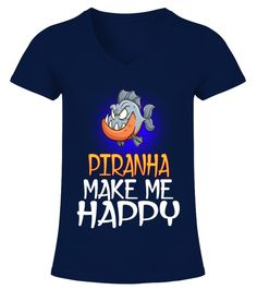 """# PIRANHA Animals Lover .  HOW TO ORDER:1. Select the style and color you want2. Click """"Buy it now""""3. Select size and quantity4. Enter shipping and billing information5. Done! Simple as that!TIPS: Buy 2 or more to save shipping cost!This is printable if you purchase only one piece. so don't worry, you will get yours.Guaranteed safe and secure checkout via: Paypal   VISA   MASTERCARD."""