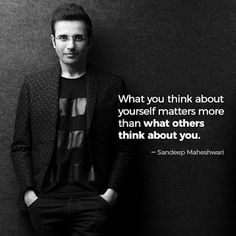Sandeep Maheshwari is a Successful Entrepreneur and talented motivational speaker in India. Read Here: Sandeep Maheshwari Quotes and Thoughts Words. Life Changing Quotes, Real Life Quotes, Reality Quotes, True Quotes, Quotes To Live By, Best Quotes, Inspire Quotes, Favorite Quotes, Motivational Quotes For Success