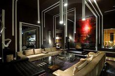 36 Stylish Dark Living Room Designs | DigsDigs