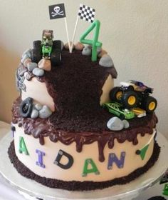 Monster Truck Birthday Cake › | Dolce Cake Shoppe