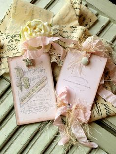 love these pink tags...would be a great inspiration for a girl's birthday or tea party