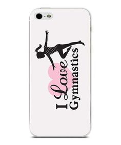 Another great find on #zulily! 'I Love Gymnastics' Personalized Phone Case #zulilyfinds