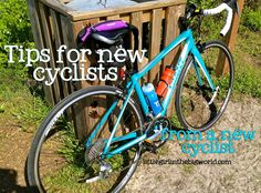 tips for new cyclists. What I've learned since buying my bike. #fitfluential