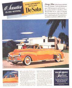1941 De Soto Convertible